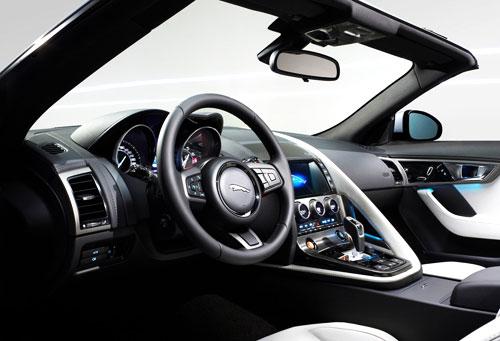 Jaguar F Type (interior)