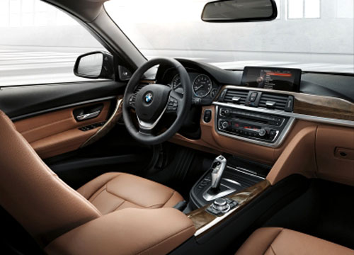 BMW Serie 3 Touring (interior)