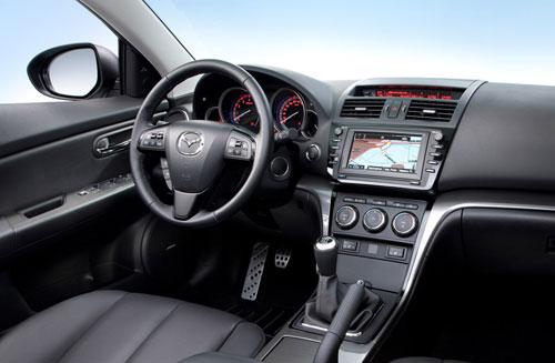 Mazda 6 2.2 CRTD Iruka (interior)