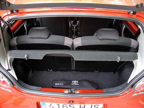 Toyota Aygo (maletero)