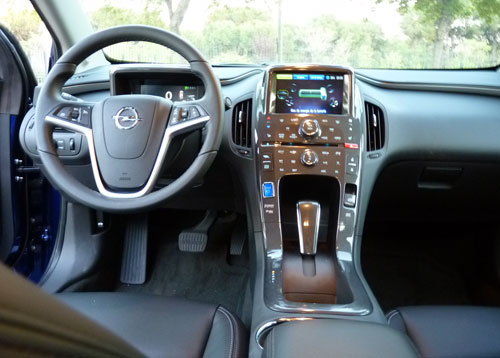 Opel Ampera (interior)