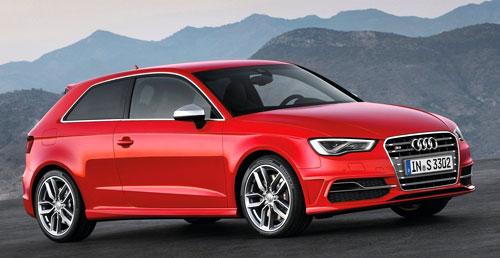 Audi S3 Sportback S Line (frontal)