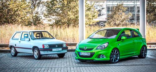 El Opel Corsa cumple 30 years BR