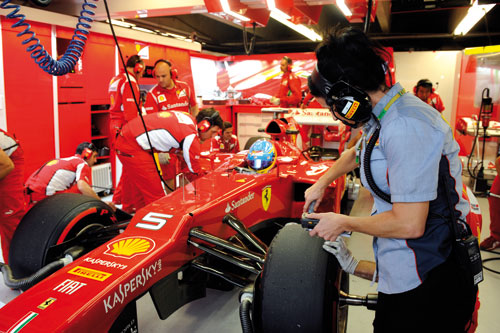 Alonso GP Italia F-1