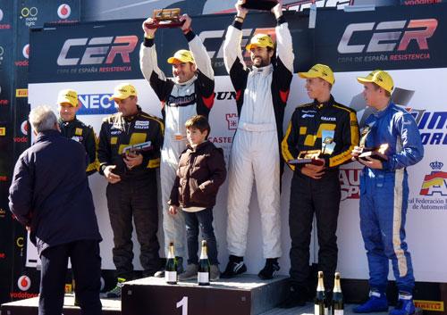 Palomino Copa de Resistencia (podio)
