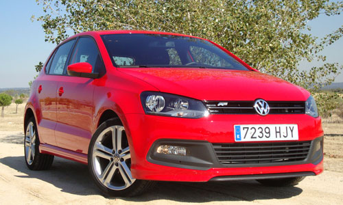 Volkswagen Polo R-Line (frontal)
