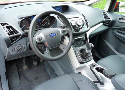 Ford C-Max 1.6 TDCi Titanium (interior)
