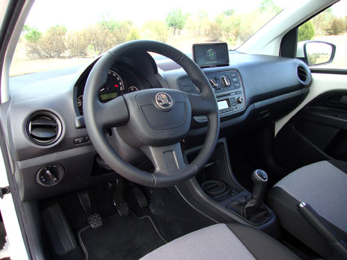 Skoda Citigo (interior)
