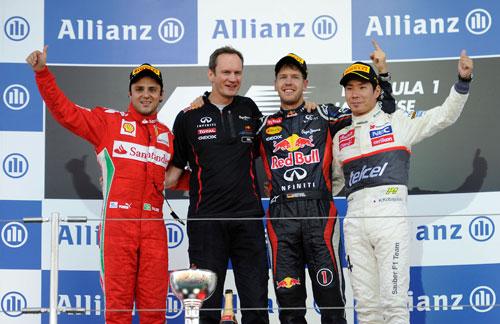 Fórmula 1 - Japón 2012