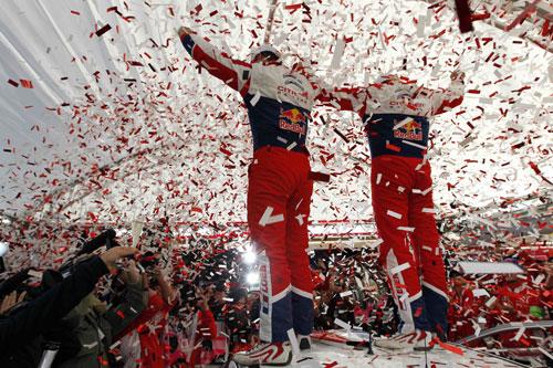 Loeb campeón 2012