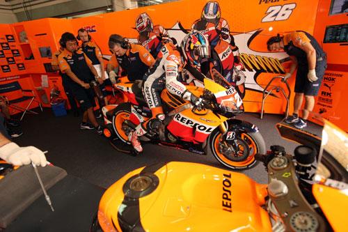 Pedrosa MotoGP Malasia