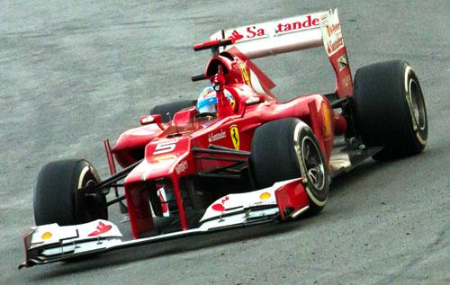 Fernando Alonso - Fórmula 1 - GP Japón 2012 (previo)