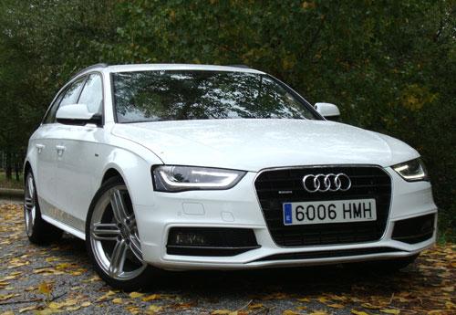 Audi A4 Avant (frontal)