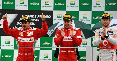 GP Brasil 2012 - Fórmula 1 - Fernando Alonso