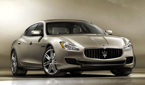Maserati Quattroporte (frontal)