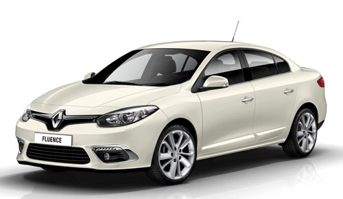Renault Fluence (frontal)