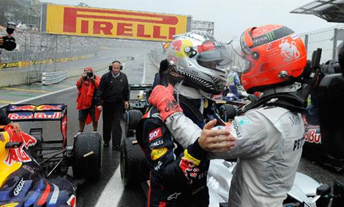 GP Brasil 2012 - Fórmula 1 - Vettel