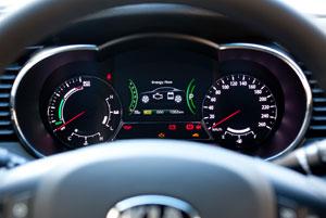 Kia Optima Hibrido II (velocimetro)