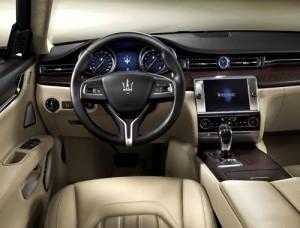 Maserati Quattroporte (interior)
