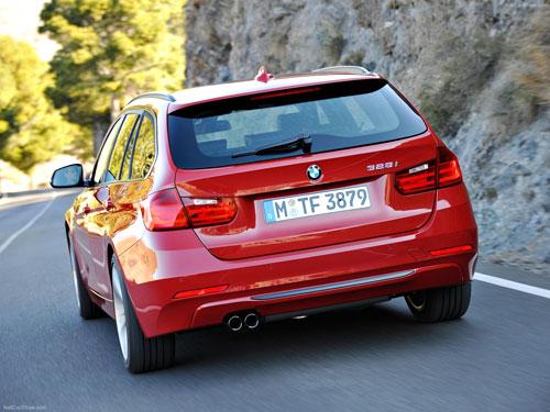 BMW Serie 3 Touring (trasera)