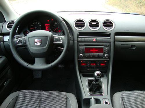 Seat Exeo 1.4 TSI 120 CV (interior)