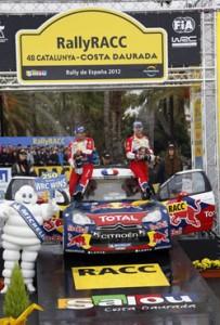 Sebastien Loeb Rally de Cataluña