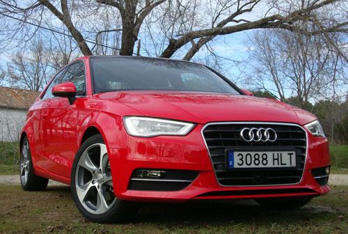 Audi A3 1.8 TFSI (frontal)