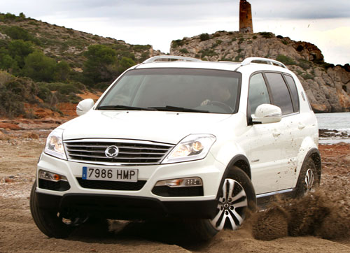 SsangYong Rexton (frontal)