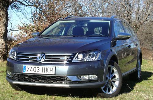 Volkswagen Passat (frontal)