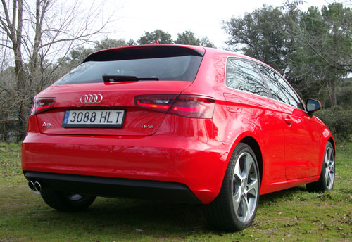 Audi A3 1.8 TFSI (trasera)