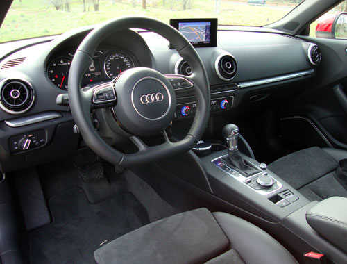 Audi A3 1.8 TFSI (interior)