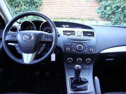 Mazda 3 1.6 CRTD Mirai 5p (interior)