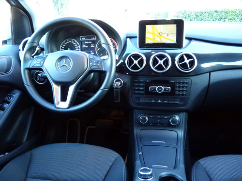 Mercedes-Benz Clase B (interior)