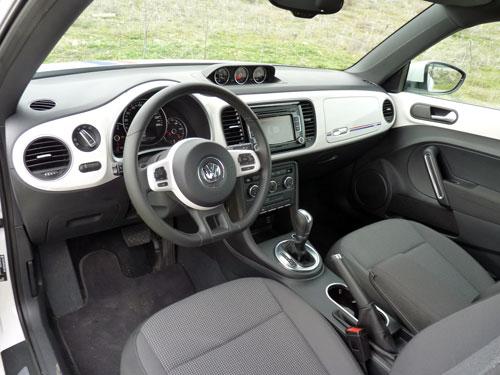 Volkswagen Beetle 53 Edition (interior)