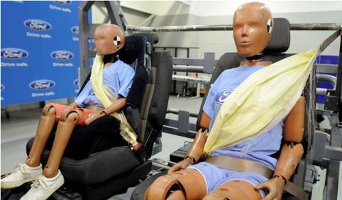 Cinturón de seguridad hinchable
