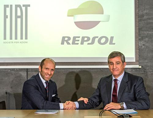 Acuerdo entre Fiat y Repsol