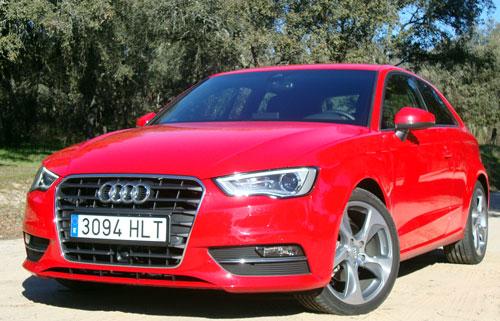Audi A3 TDI (frontal)