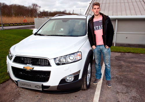 Chevrolet Manchester United (David de Gea)
