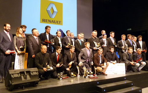 Entrega de premios Renault