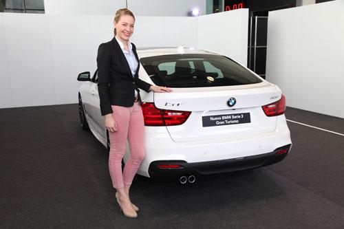 BMW Serie 3 GT (trasera)