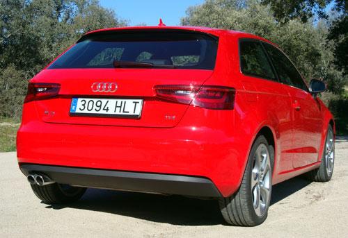Audi A3 TDI (trasera)