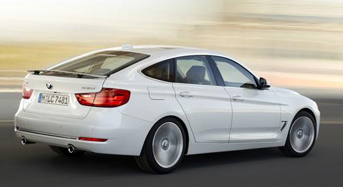 BMW Serie 3 Gran Turismo (trasera)