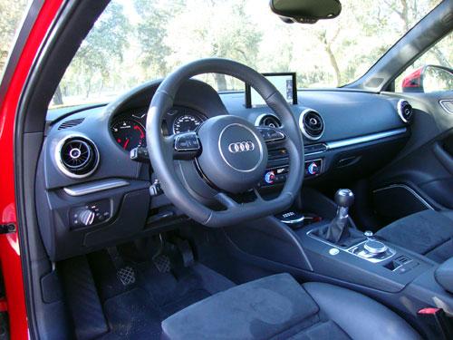 Audi A3 TDI (interior)