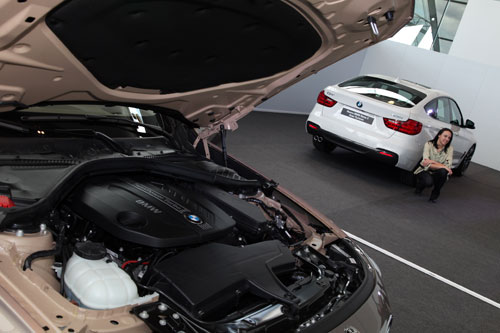 BMW Serie 3 GT (motor)