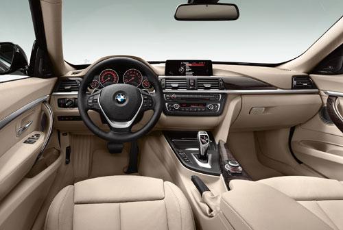 BMW Serie 3 GT (interior)