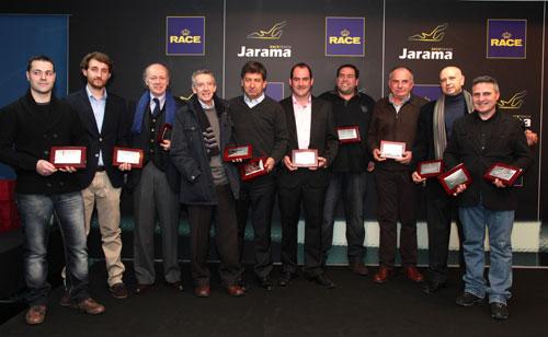 Entrega premios RACE TRT 2012