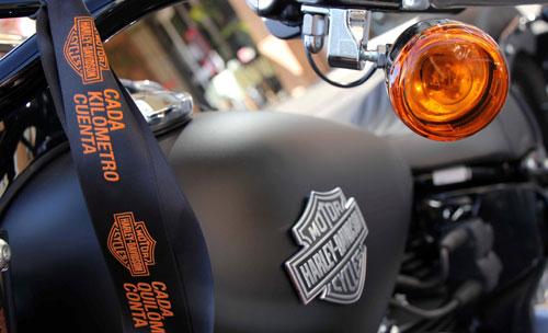 Harley-Davidson cada km cuenta