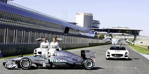 Mercedes W04 - Fórmula 1