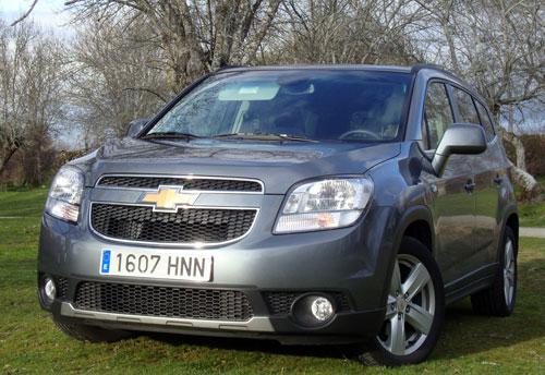 Chevrolet Orlando (frontal)