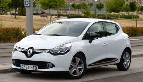 Renault Clio (frontal)